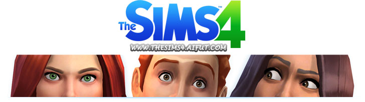 Game The Sims 4 - web logo