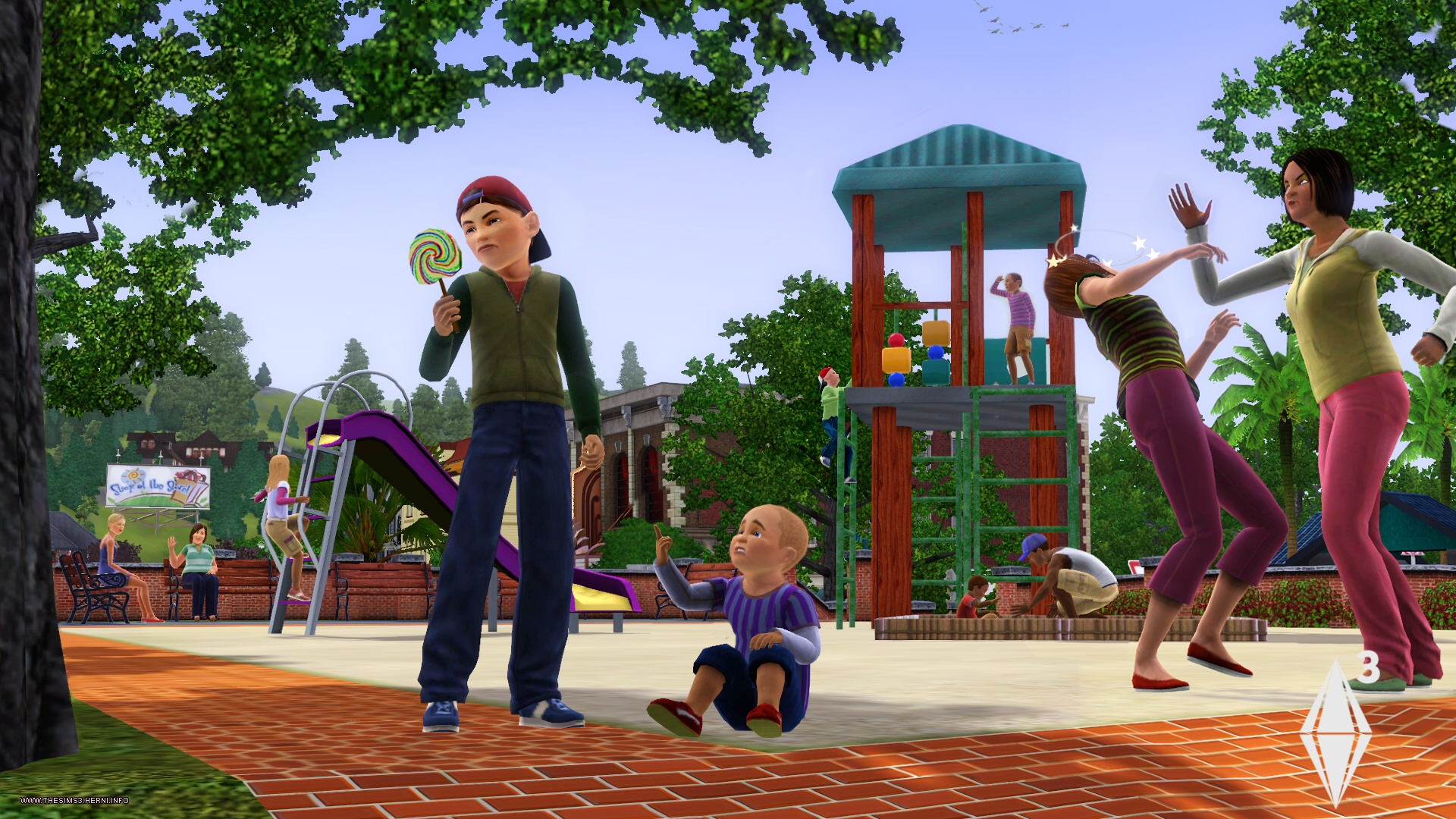 Picture of the game Sims 4