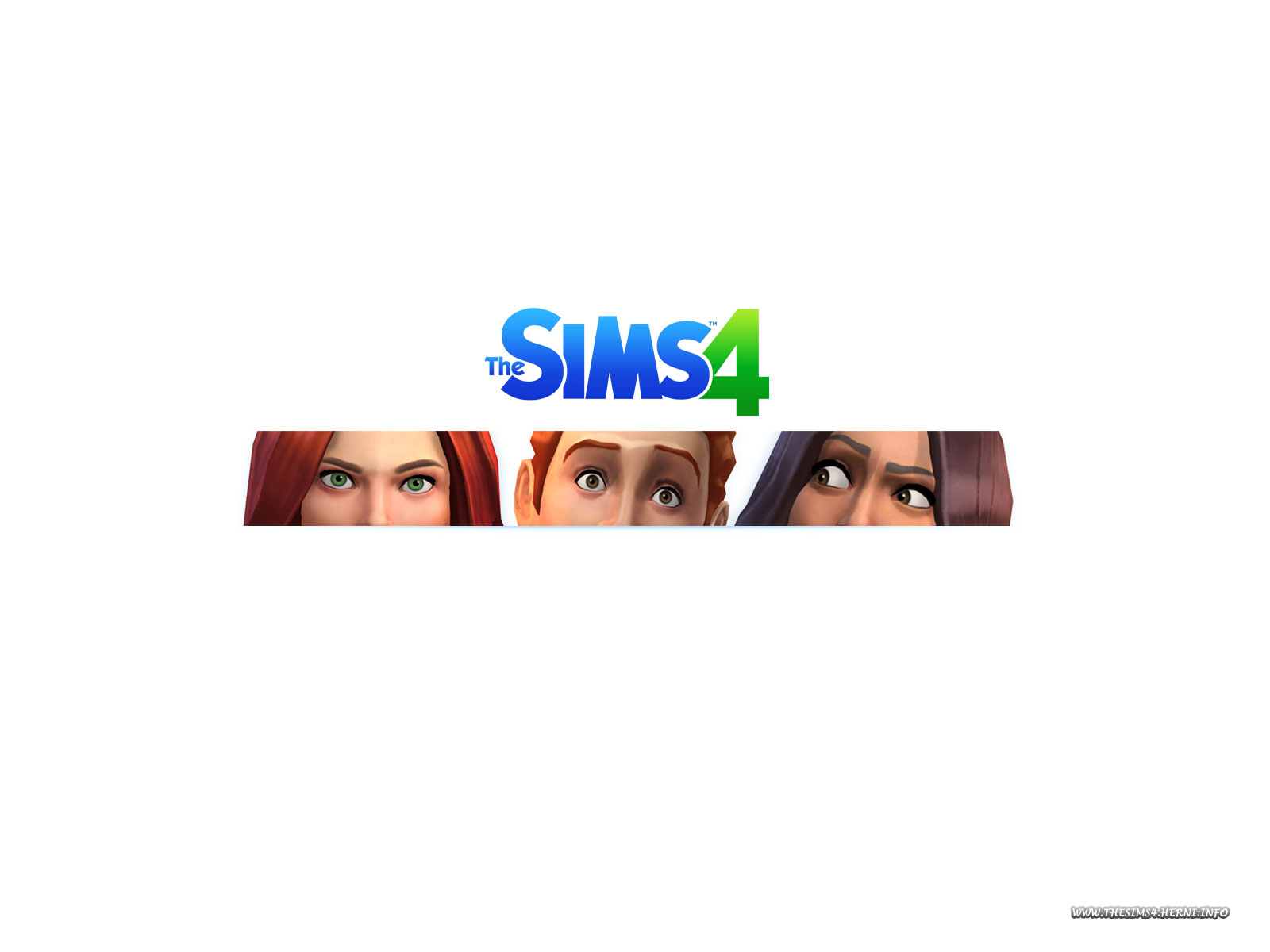 Wallpaper for the game The Sims 4
